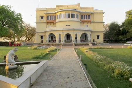 Brij Raj Bhavan Palace in Kota, Rajasthan